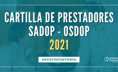 CARTILLA DE PRESTADORES MÉDICOS 2021