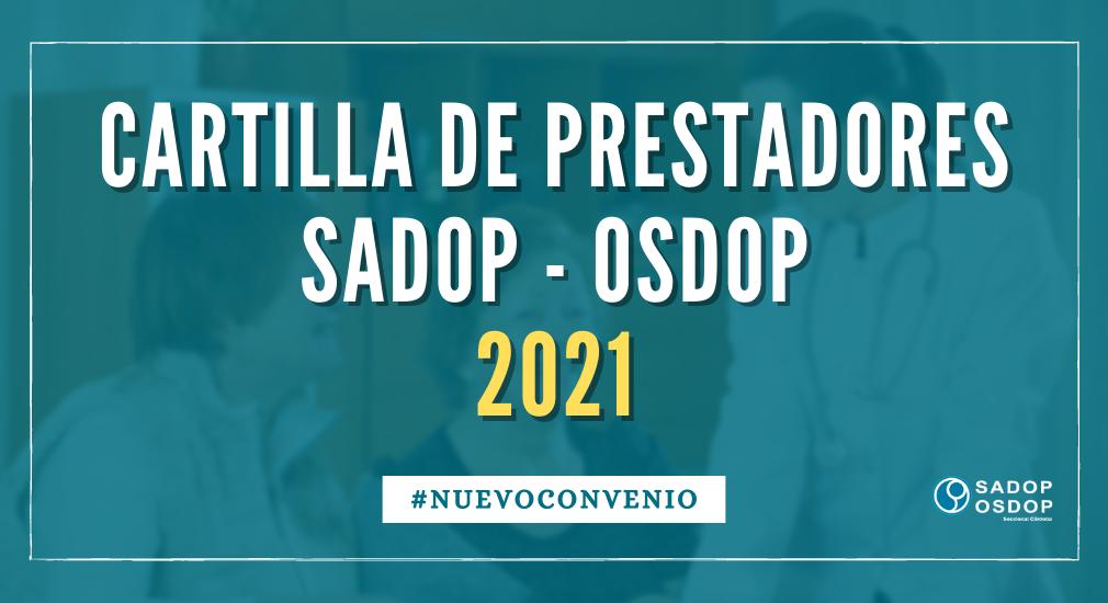 En este momento estás viendo CARTILLA DE PRESTADORES MÉDICOS 2021