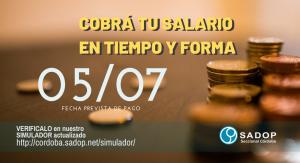 Lee más sobre el artículo PAGO DE SALARIO