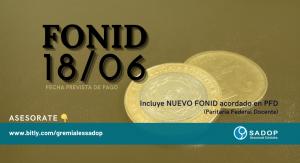 Lee más sobre el artículo FONID JUNIO 2021